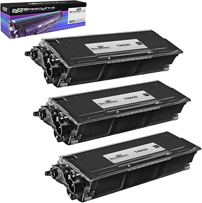 3pk TN650 Black Toner 1pk DR620 Drum Cartridge for Brother DCP 8080 8085 8370