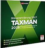 Lexware TAXMAN 2018 in frustfreier Verpackung, Übersichtliche Steuererklärungssoftware für Arbeitnehmer, Familien, Studenten und im Ausland Beschäftigte, Kompatibel mit Windows 7 oder aktueller