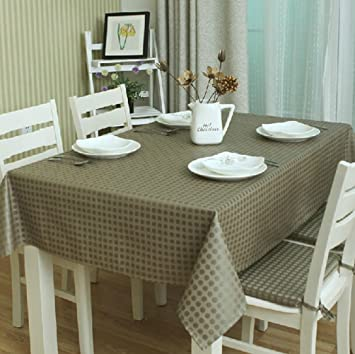 High Grade Tablecloth Heat Resistant High Temperature Resistant Tablecloths  (55x55 Inch)