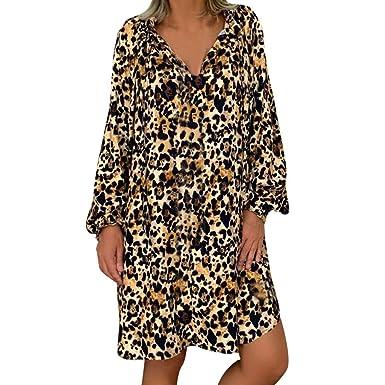 Amazon.com: Hot!!🔥🌻 Women\'s Loose Plus Size Dresses ...