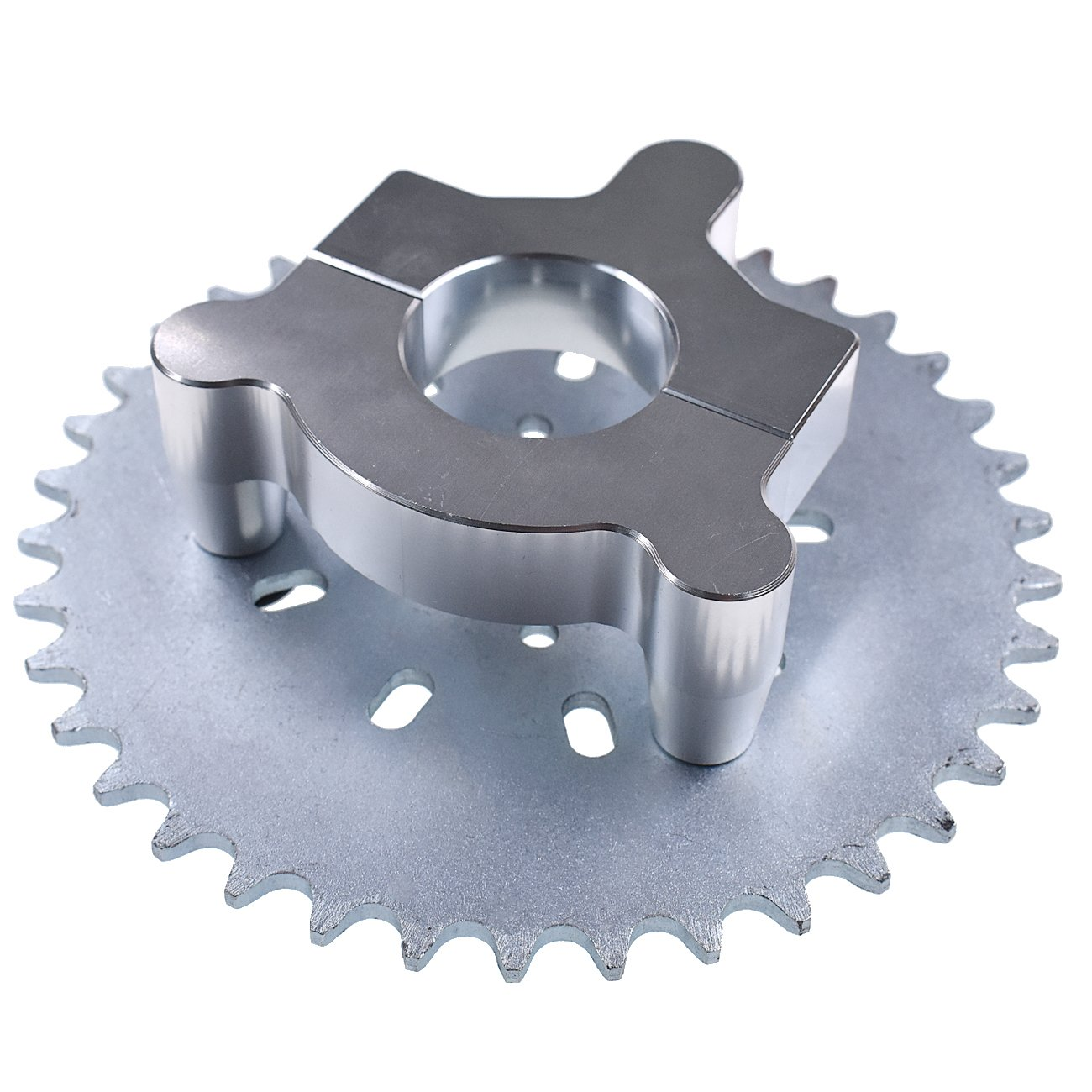 NORTHTIGER 38T Sprocket Adapter Fit 415 Chain 49cc 50cc 66cc 80cc 2 Stroke Motorized Bike