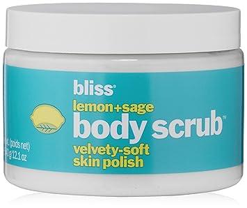 bliss Lemon + Sage Body Scrub, 12.1 fl. oz. Leaders, Bye Bye to Dry, Intense Hydrating Mask, 1 Mask, .84 fl oz (pack of 2)
