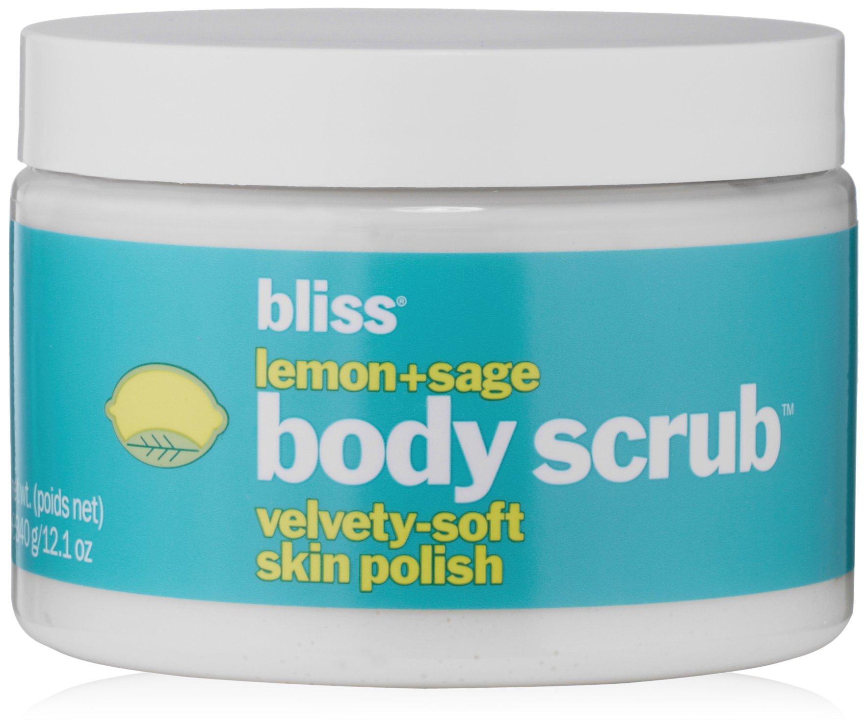bliss Lemon + Sage Body Scrub, 12.1 fl. oz.