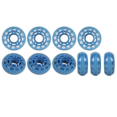 Player's Choice Roller Hockey Goalie Wheels 60mm 78a Set of 10 for Indoor Inline Skates : Inline Skate Replacement Wheels : Sports & Outdoors
