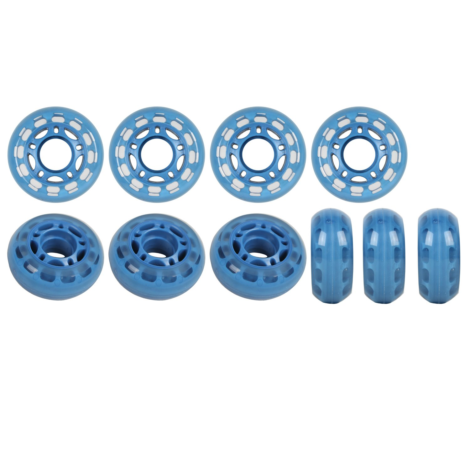 Amazon Com Player S Choice Roller Hockey Goalie Wheels 60mm 78a