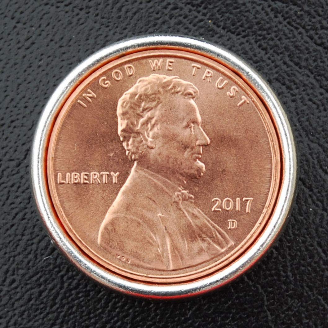 US 2017 Lincoln Penny BU Uncirculated 1 Cent Coin Leak Proof Black PU Leather Wrapped Stainless Steel 8 Oz Hip Flask - Lucky Penny Wine etc Water Liquor
