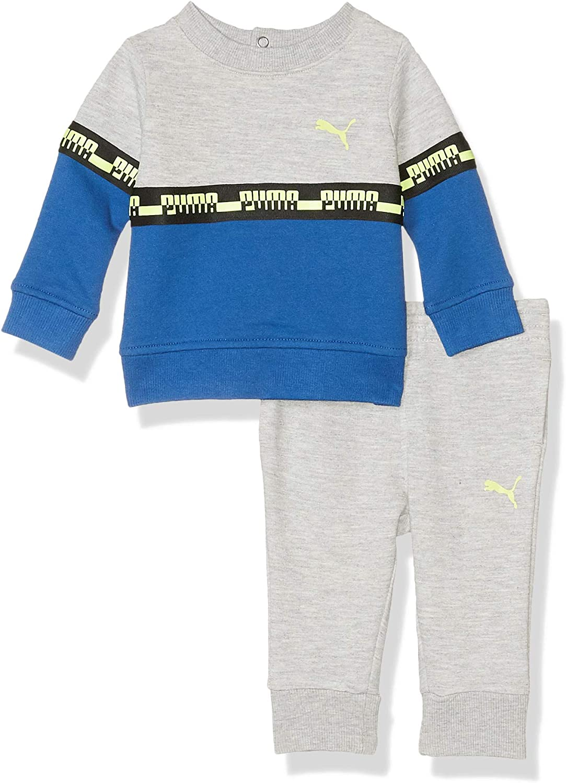 PUMA Baby-Boys Boys Fleece Hoodie Set Hooded Sweatshirt