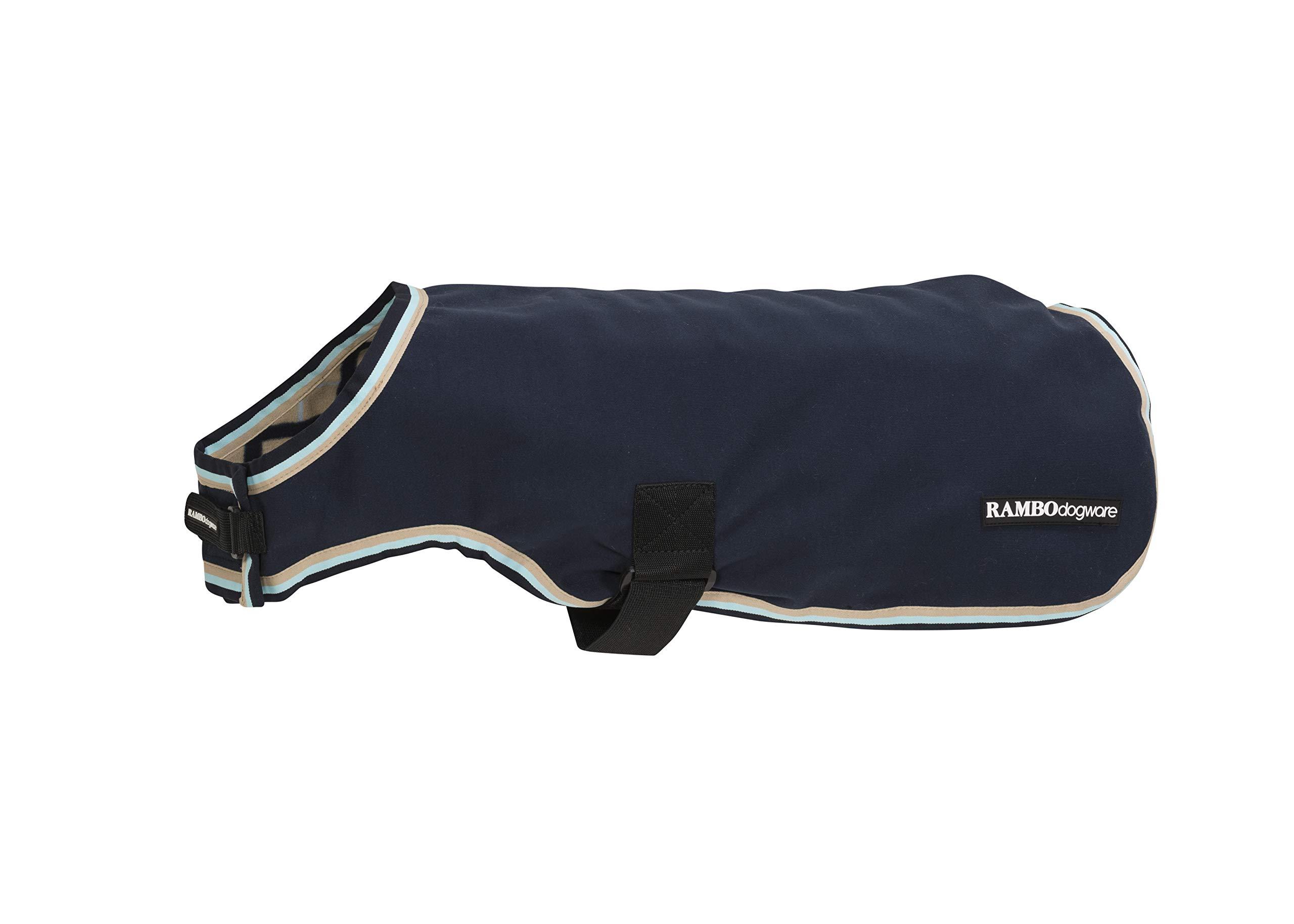 Rambo Waterproof Fleece Dog Blanket XX-Large Navy/