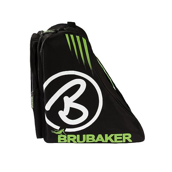 Brubaker - Couverture Pour Une Paire De Bottes Davos Ski, Noir / Vert, De Taille Moyenne