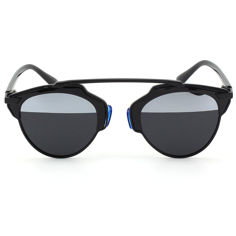 CGID Damen Sonnenbrille, Silber: Amazon.de: Bekleidung