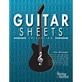 Guitar Sheets Collection: Over 200 pages of Blank TAB Paper, Staff Paper, Chord Chart Paper, Scale Chart Paper, & More (1)