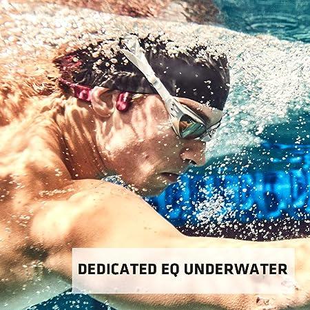 AfterShokz Xtrainerz, Auriculares MP3 de conducción ósea, Ideales para Utilizar en la práctica de la natación, con Memoria de 4GB,Black Diamond: Amazon.es: Electrónica