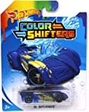 Hot Wheels Color Shifters El Superfasto - Blue and Yellow
