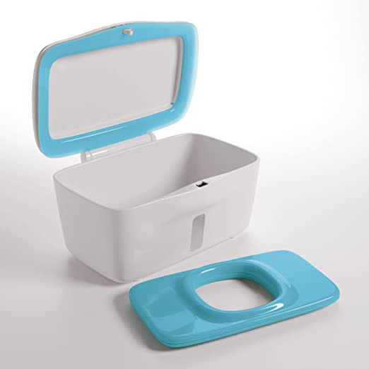 Oxo TOT6324400 - Dispensador toallitas grandes, color azul: Amazon.es: Bebé