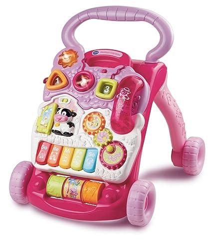 VTech Baby Walker - Primeros pasos de bebé, color rosa (versión en inglés)