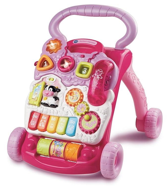 VTech Baby Walker - Primeros pasos de bebé, color rosa (versión en ...