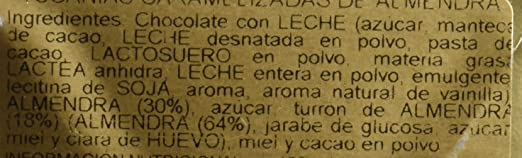 Vicens Tucanias Caramelizadas De Almendra - 120 g: Amazon.es: Amazon Pantry