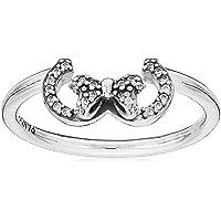 باندورا خاتم فضة الاسترليني للنساء مكعب