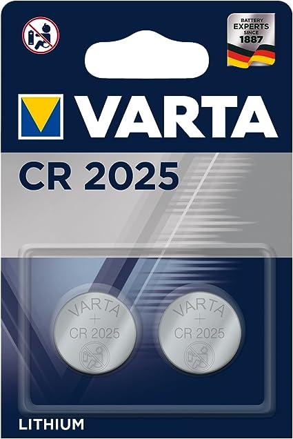 Varta Batterien Electronics Cr2025 Lithium Knopfzelle Elektronik