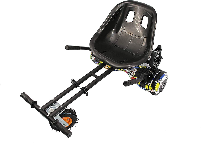 Hoverkart Profesional | Hoverkart Metal | Hoverboard Asiento Kart | Hoverkart Asiento Kart | Medidas: 52x42x21 cm