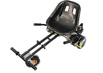 Hoverkart Profesional | Hoverkart Metal | Hoverboard Asiento Kart | Hoverkart Asiento Kart | Medidas: 52x42x21 cm: Amazon.es: Deportes y aire libre