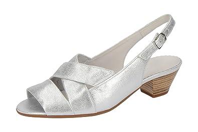 Gabor Damen Sandale - Sandaletten Malta - 86.571 Comfort 86.571.61 Grau, EU  38 50516db44e