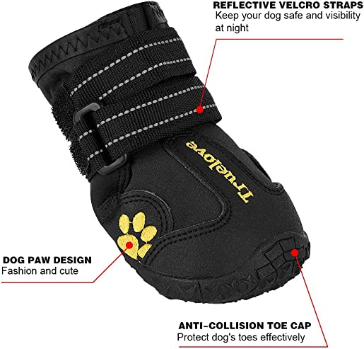 EXPAWLORER-Waterproof-Dog-Boots-Reflective-Non-Slip-Pet-Booties-for-Medium-Large-Dogs