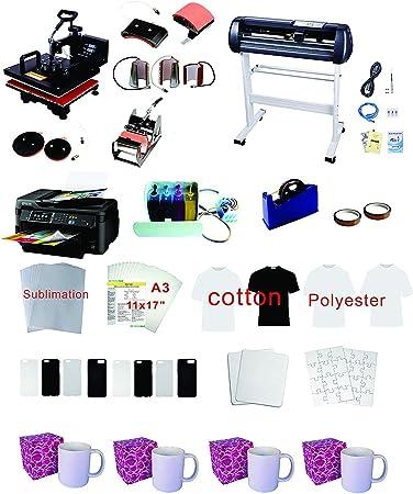 Plotter WF-7710 - Kit de materiales para impresora CISS (34
