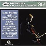 Dvorák Cello Concerto in B minor, Op. 104; Bruch Kol Nidrei; Tchaikovsky Variations on a Rococo Theme / Dorati, Starker, London Symphony Orchestra (3-Channel and Stereo Hybrid SACD)