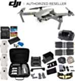 DJI Mavic Pro Platinum Collapsible Quadcopter 3-Battery Ultimate Bundle