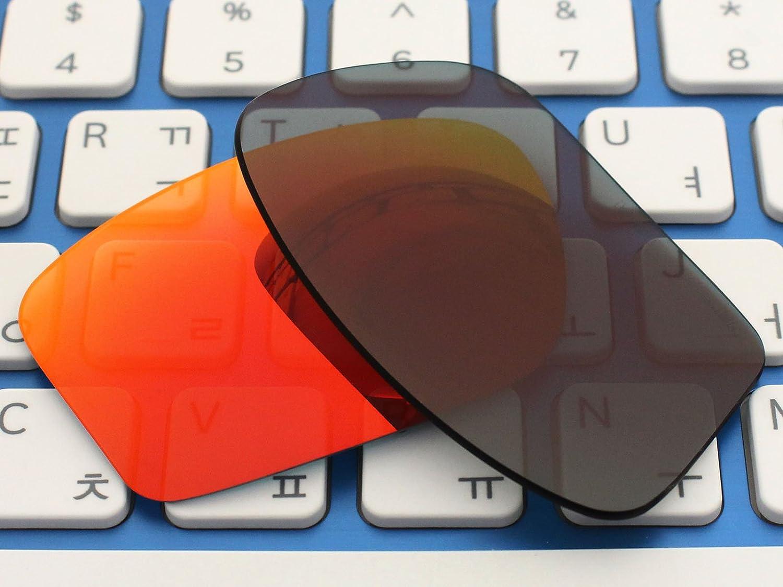 acompatible lentes de repuesto para Oakley Chainlink gafas de sol oo9247, Fire Red Mirror - Polarized