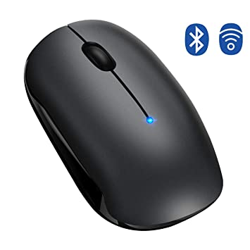 d0aae5e8911 Bluetooth Mouse,【Dual-Mode Tech,Silent Design,15 Months Battery ...