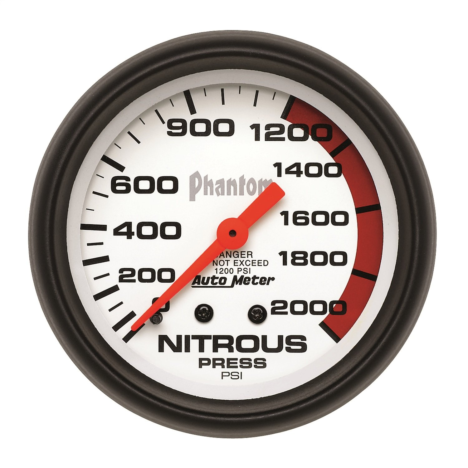 Auto Meter 5828 Phantom Mechanical Nitrous Pressure Gauge