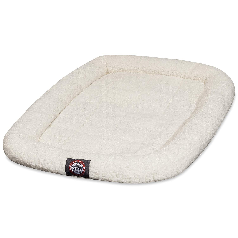Sherpa Small 30\ Sherpa Small 30\ Majestic Pet 30-Inch Sherpa Crate Pet Bed Mat
