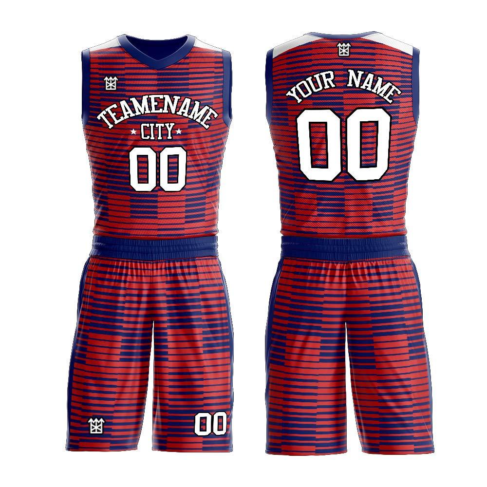 more photos d3027 7a990 Amazon.com: Custom high School Basketball Team Jerseys add ...