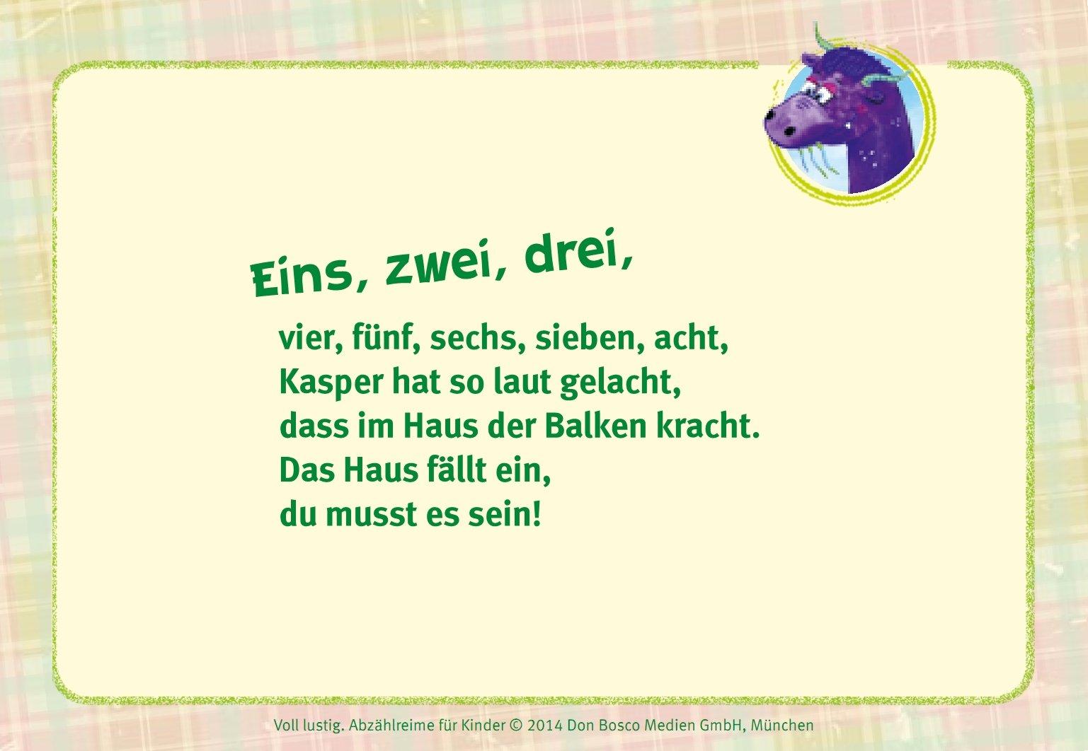 Voll Lustig! Abzählreime Für Kinder: Amazon.de: Hildegard Kunz: Bücher