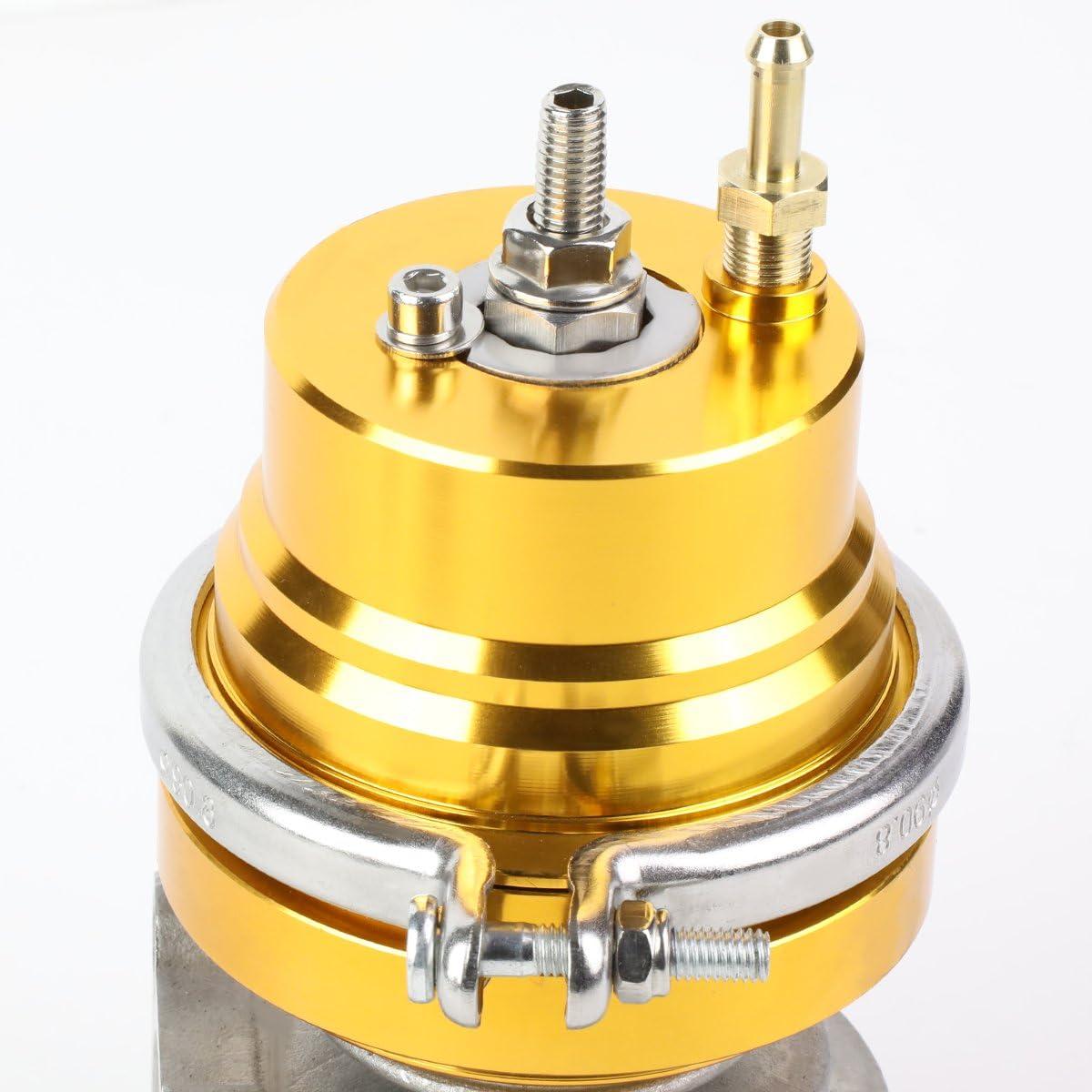 DNA Motoring WG-TS-45MM-T11-BK External Turbo Manifold Wastegate