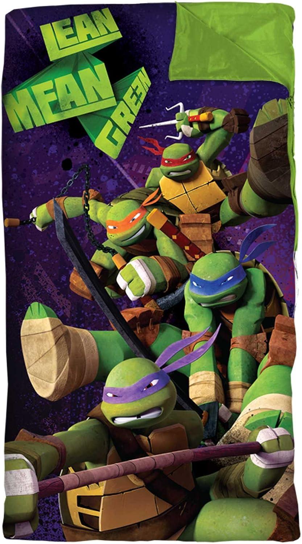 Nickelodeon Teenage Mutant Ninja Turtles Slumber Bag Set