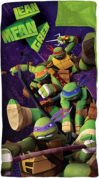 Amazon.com: Juego de sábanas de las Tortugas Ninja ...