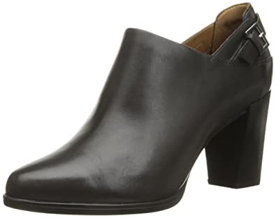 CLARKS Women\u0027s Kadri Dylan Chelsea Boot, Dark Grey Leather, ...