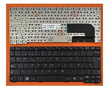 tecla2xtatil Teclado para PORTATIL Samsung NB20 NB30 Sec S/N:CNBA590 EN ESPAÑOL Negro Nuevo: Amazon.es: Electrónica
