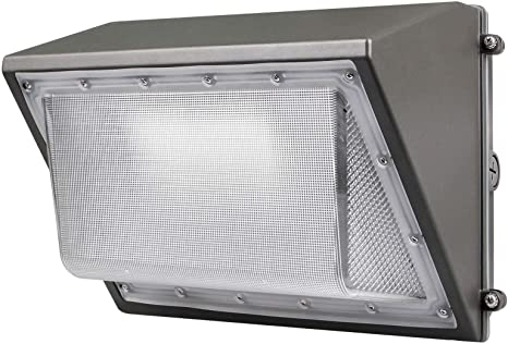 Amazon Com Led Wall Pack With Dusk To Dawn Photocell 60w Waterproof Outdoor Commercial Lighting Fixture 200 300w Hps Mh Replacement 5000k 7200lm 100 277vac Etl Dlc Listed 10 Year Warranty By Kadision Home Improvement