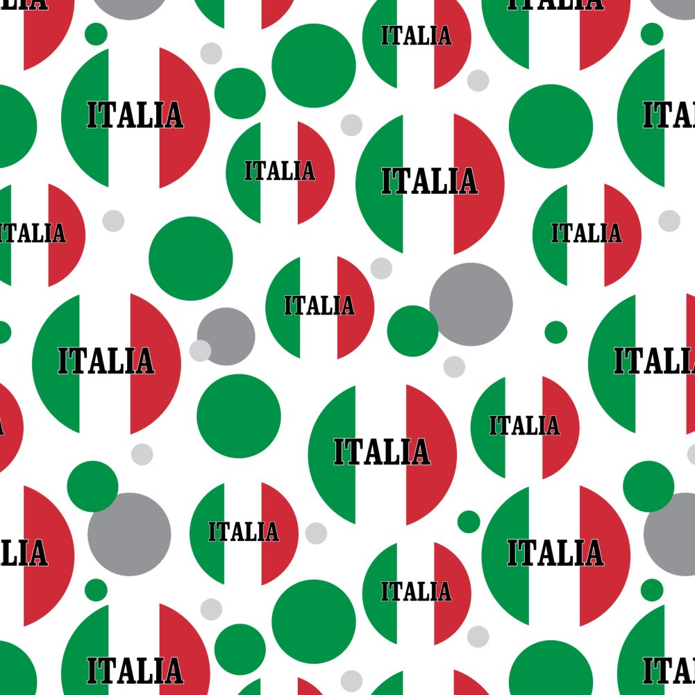 Italia Italy Italian Flag Premium Gift Wrap Wrapping Paper Roll