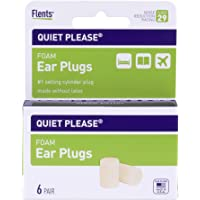 Flents Quiet Please Ear Plugs (6 Pair) NRR 29
