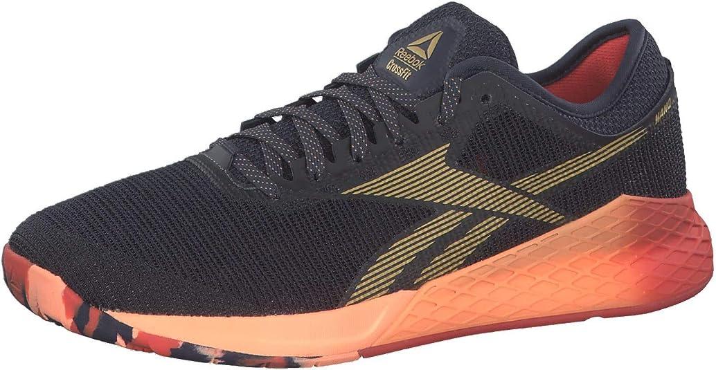 Reebok Nano 9, Zapatillas de Entrenamiento para Hombre, Multicolor (Heritage Navy/Rosette/Sunglow Eg0600), 42.5 EU: Amazon.es: Zapatos y complementos
