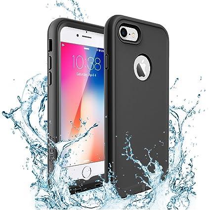 brand new 436ce c08dd Amazon.com: iPhone 7 Case, iPhone 8 Waterproof Case, ZVE Drop ...