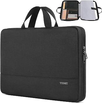 Black Slim College Business 15 Laptop Computer Briefcase Bag