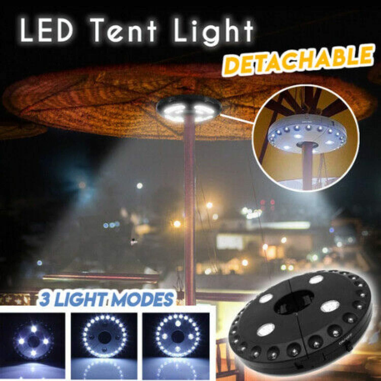 Uchada 2019 LED Detachable Tent Light (Black)