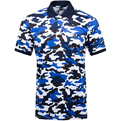 a6ff4a98 G/FORE Camo Poly Jersey Polo Twilight - SS17 X-Large: Amazon.co.uk: Clothing