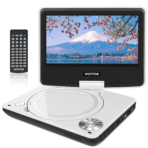 WONNIE ポータブルDVDプレーヤー 7.5型 JP-WN-DVDplayer